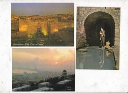 Lot   De 22 Carte Postales Israël - Cartoline