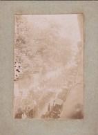 Photographie Sur Carton - Paris (75) - Enterrement Du Président Sadi Carnot - 1894 - Rue Clovis Panthéon - Texte Au Dos - Orte