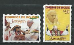 Bolivia 2005 Tribute To John Paul II. MNH - Bolivie
