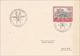 Generalgouvernement (GG): FDC Der 10 Zloty Marke Zum Geburtstag Des Führers 1941 - Occupation 1938-45
