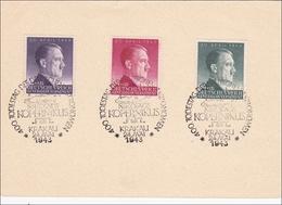 Generalgouvernement (GG): Gedenkblatt 400. Todestag Kopernikus 1943 - Occupation 1938-45