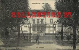 93 ☺♥♥ PIERREFITTE Sur SEINE < VISUEL RARE EDITION DAMIDEAUX < LA MAIRIE Et Sa GRILLE - Pierrefitte Sur Seine