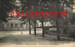93 ☺♥♥ PIERREFITTE Sur SEINE < VISUEL RARE EDITION DAMIDEAUX <  AVENUE JEAN JAURES < LES ECOLES Et PLACE Du MARCHÉ - Pierrefitte Sur Seine