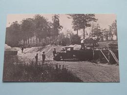 NEERHAREN Aanleg Kanaal ( REPRO - COPY Van Postkaart Of Foto / Details Zie Foto ) ! - Lanaken