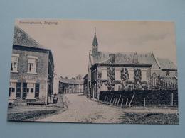 SMEERMAES Ingang (detail Café De La MEUSE ) > ( REPRO - COPY Van Postkaart Of Foto / Details Zie Foto ) ! - Lanaken