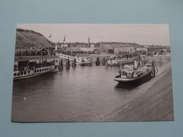 Opening Kanaal Lanaken > Neerharen ( Koning Op Boot ) > ( REPRO - COPY Van Postkaart Of Foto / Details Zie Foto ) ! - Lanaken