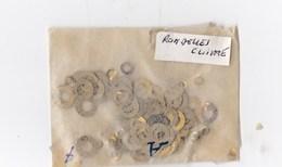 Horlogerie Lot De Rondelles Cuivre - Matériel
