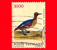VATICANO  - Usato - 1989 - Uccelli - Alzavola Francese - 3000 L. - Vedi... - Vatican