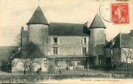 CHAILLAC  Le Chateau - France