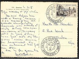 Tàd Illustré Fêtes De Jeanne D'Arc / Domrémy 20 Mai 1956 / CP Affr. 12 F Pont Valentré Cahors - Berühmt Frauen
