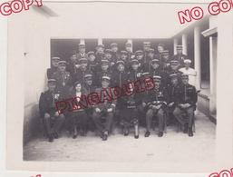 Maroc La Brigade De Gendarmerie De Fès Gendarme Médaille Décoration 1933 Beau Format - Guerre, Militaire
