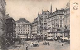 Wien, Neuer Markt, Belebt, Kutsche - Vienne