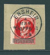 Saar MiNr. 20 Briefstück, Verzähnt (sab06) - 1920-35 Saargebiet – Abstimmungsgebiet