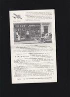 Levallois (92) Prospectus Illustré -cycles New John, Magasin Rue Victor Hugo, Joseph Jean, Inventeur - Reclame