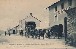 I5 - 38 - VILLARD-DE-LANS - Isère - LANS - Les Jaumes - L'arrivée De La Diligence - Hôtel Repellin - Villard-de-Lans