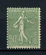 FRANCE 1924  N° 198a ** Neuf = MNH Superbe  C  15,50 € Type Semeuse Lignée Vert - Ungebraucht