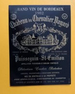 9317 - Château Du Chevalier Bayard 1982 Puisseguin Saint-Emilion - Bordeaux