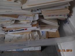 LOT De Courriers, Lettres, FDC... Toutes époques ... (pour Faire De La Place) - Vrac (min 1000 Timbres)