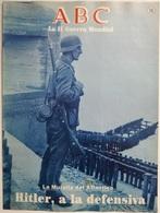 Fascículo Hitler A La Defensiva, La Muralla Del Atlántico. ABC La II Guerra Mundial. Nº 59. 1989 - Espagnol