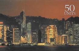 Prepaid: GlobalOne, Hong Kong Victoria District 09/99 - Frankreich