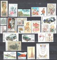 Czech Republic 2010-17 - Lot Of 22 Stamps - Used Gestempelt - Tschechische Republik