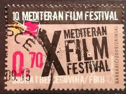 2009 BOSNIA AND HERZEGOVINA HPT MOSTAR 10th Mediterranean Film Fest - Bosnia And Herzegovina
