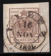 """Ausg. 1850, """" LIENZ - TIROL """" Luxus-Briefstück! , #a1604 - Oblitérés"""
