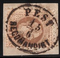 "1867, Reko-Stp. "" Pest "" Ungarn  , #a1605 - 1850-1918 Empire"