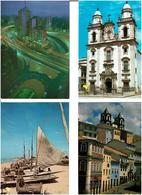 BRESIL /  Lot De 90 Cartes Postales Modernes écrites - Cartes Postales