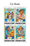 GUINEA 2018 - Scouts, Mushrooms. Official Issue - Champignons