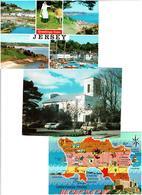 JERSEY /  Lot De 45 Cartes Postales Modernes écrites - Postcards