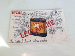 Buvard Ancien PILE LECLANCHÉ - Accumulators