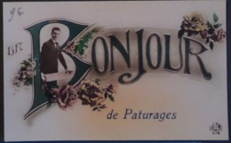 Un Bonjour De Pâturages - Carte Fantaisie - Colfontaine