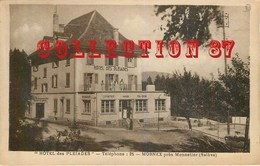 ☺♥♥ 74 MORNEX < VISUEL RARE De L'HOTEL Des PLEIADES Près MONNETIER SALEVE - France