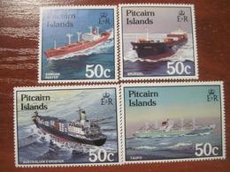 Pitcairn Islands 1987  Ships Fleet  MNH - Timbres