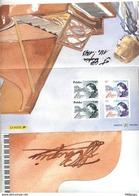 Pochette Emission Commune France Pologne Chopin - Unused Stamps