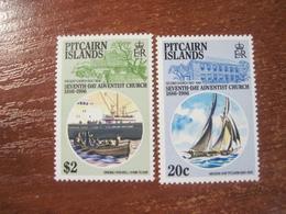 Pitcairn Islands 1986 Seventh Day Adventist Church  Ships Fleet  MNH - Timbres