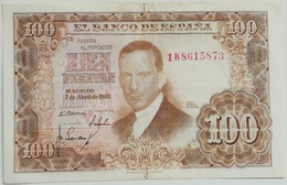Billete 100 Pesetas. 1953. España. Julio Romero De Torres - 100 Pesetas