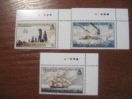 Pitcairn Islands 1981 Migration To Norfolk Island  Ships Fleet  MNH - Timbres