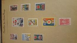 Anciens Timbres Dfrançais A Grosse Cote - Stamps