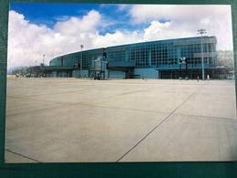MACAU A VIEW OF THE PASSENGER TERMINAL OF THE MACAU INTERNATIONAL AIRPORT - China