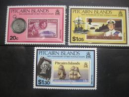 Pitcairn Islands 1990 50th Anniversary Of First Postage Stamps  Sailing  Ships Fleet Millenium MNH - Stamps