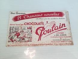 Buvard Ancien CHOCOLAT POULAIN - Chocolat