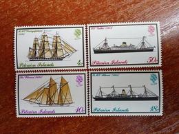 Pitcairn Islands 1975  Ships Fleet MNH - Timbres