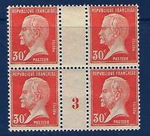 """FR Millésime YT 173 """" Pasteur 30c.rouge """" Neuf** De 1923 - Millésime"""