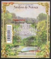 B-F TIMBRE - FRANCE -  2012 - Feuillet N° F4663 Neuf Luxe. Jardins De France, Salon Du Timbre - Neufs
