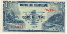 Indonesia 1 Rupian 1953 Pick 40 UNC - Indonésie