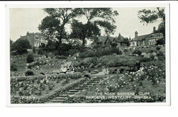 CPA - Cartes Postales -Royaume Uni -Westcliff-on-Sea- The Rock Gardens- S4440 - Southend, Westcliff & Leigh