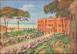 Cartoline Francavilla Al Mare Albergo Pensione Piazza Esedra 1922 - Non Classificati