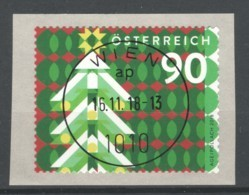 """Österreich 2018: """"Weihnachten - Vintage"""" Gestempelt (siehe Foto/Scan) - 1945-.... 2. Republik"""